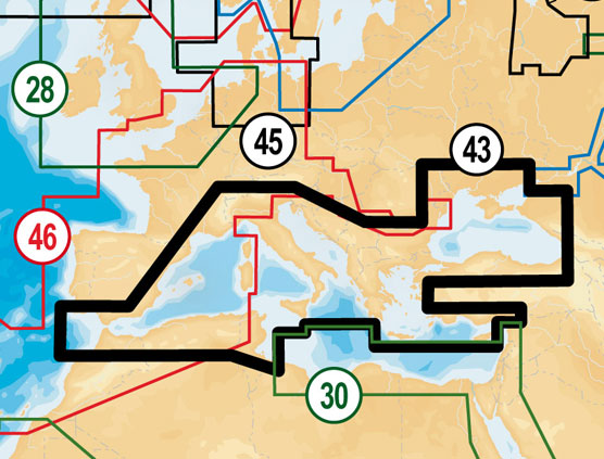 Карта 43XG
