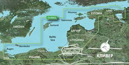EU505S - Балтийское море (восточная часть)