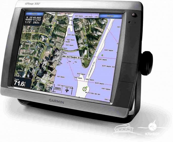 Картплоттер Garmin GPSMAP 5012