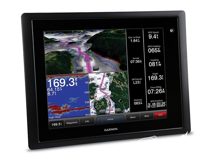 Картплоттер Garmin GPSMAP 8012