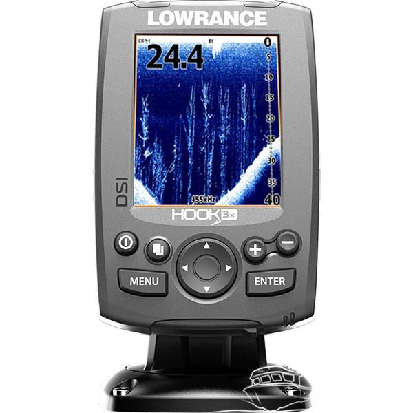 Эхолот-навигатор Lowrance HOOK-3x DSI