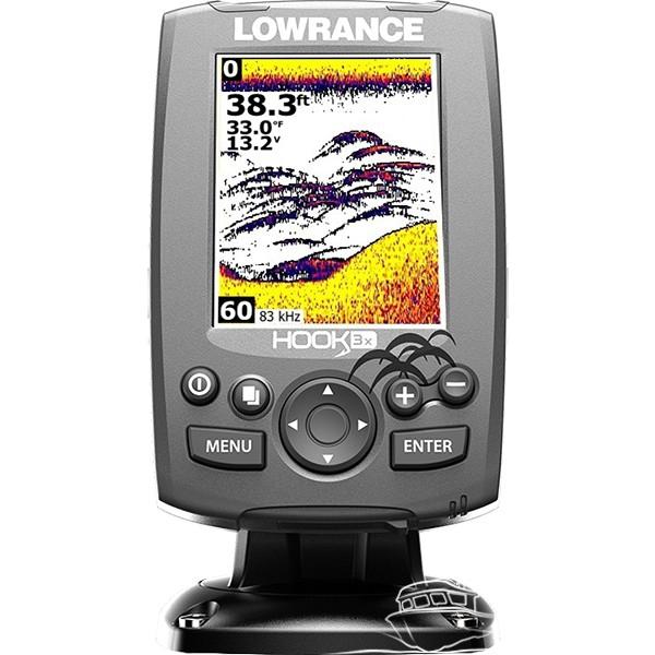Эхолот-навигатор Lowrance HOOK-3x