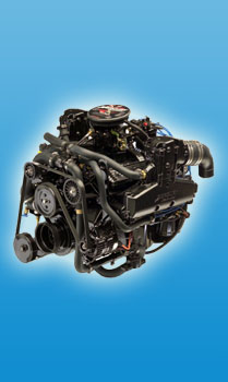 Двигатель Mercury Inboards 5,7L TSI