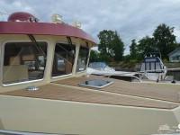Носовая часть катера North Silver Pro 1440