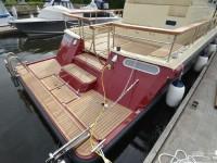 Кормовая часть катера North Silver Pro 1440