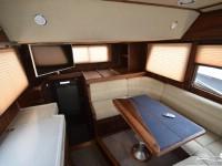 Интерьер кабины катера North Silver Pro 1440