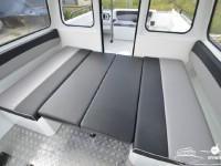 Спальные места катера North Silver PRO 745 cabin