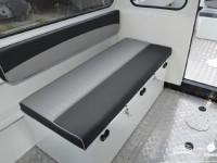 Рундук с мягкими накладками катера North Silver PRO 745 cabin