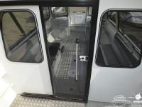 Раздвижная дверь кабины катера North Silver PRO 745 cabin