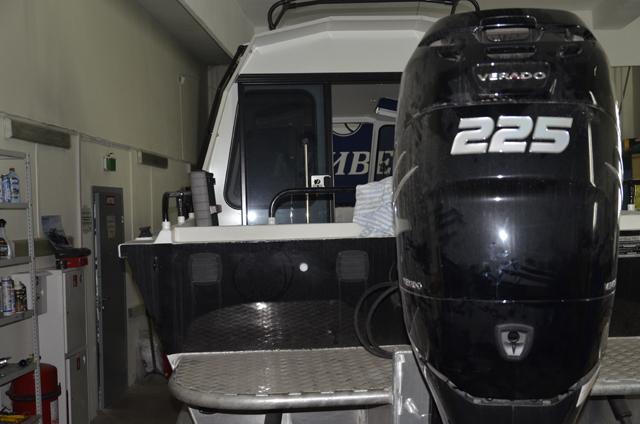 Установка лодочных моторов Verado