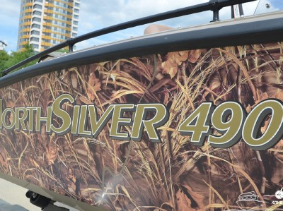 Катер North Silver 490 - вид сзади