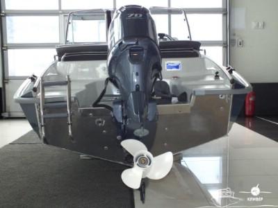 Катер Silver Fox DC 485 NEW - вид сзади