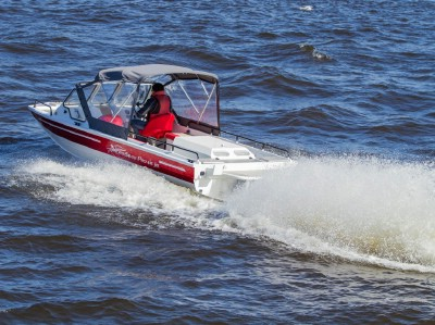 NorthSilver PRO 645 Jet с мотором Mercruiser 4.3 MPI + Scott WaterJet 851