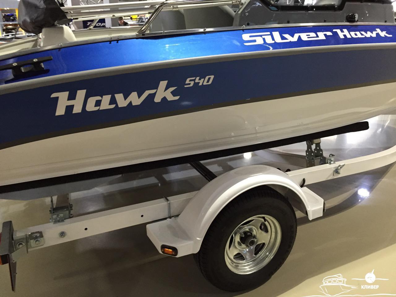 Катер SILVER HAWK 540 DC New c Mercury F 100