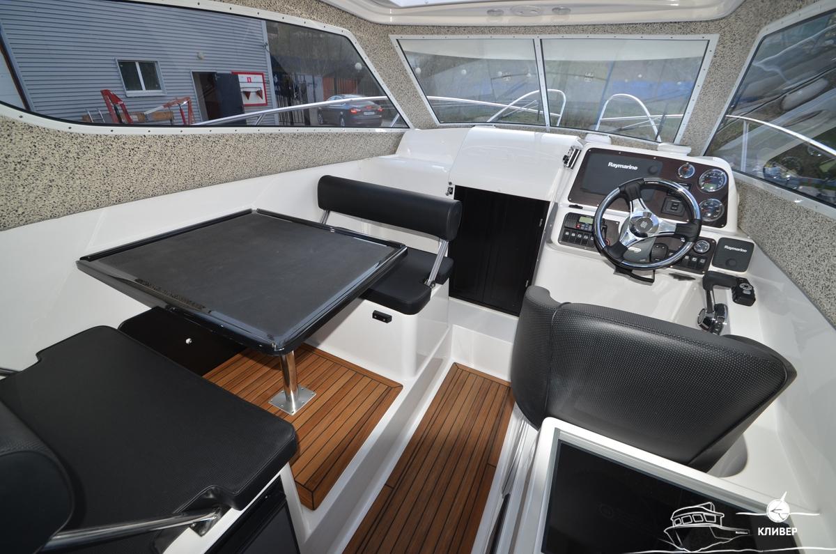 Рубка катера Silver Condor Star Cabin 730