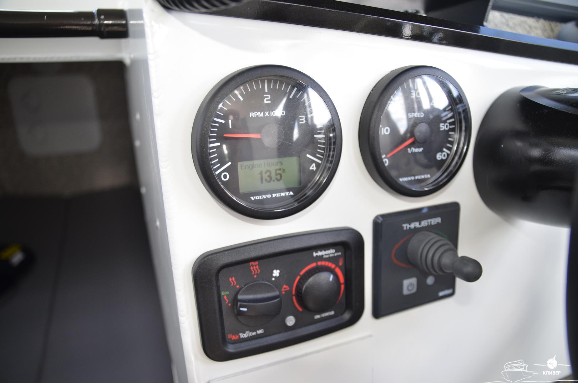 Приборная панель катера North Silver PRO 920 М St