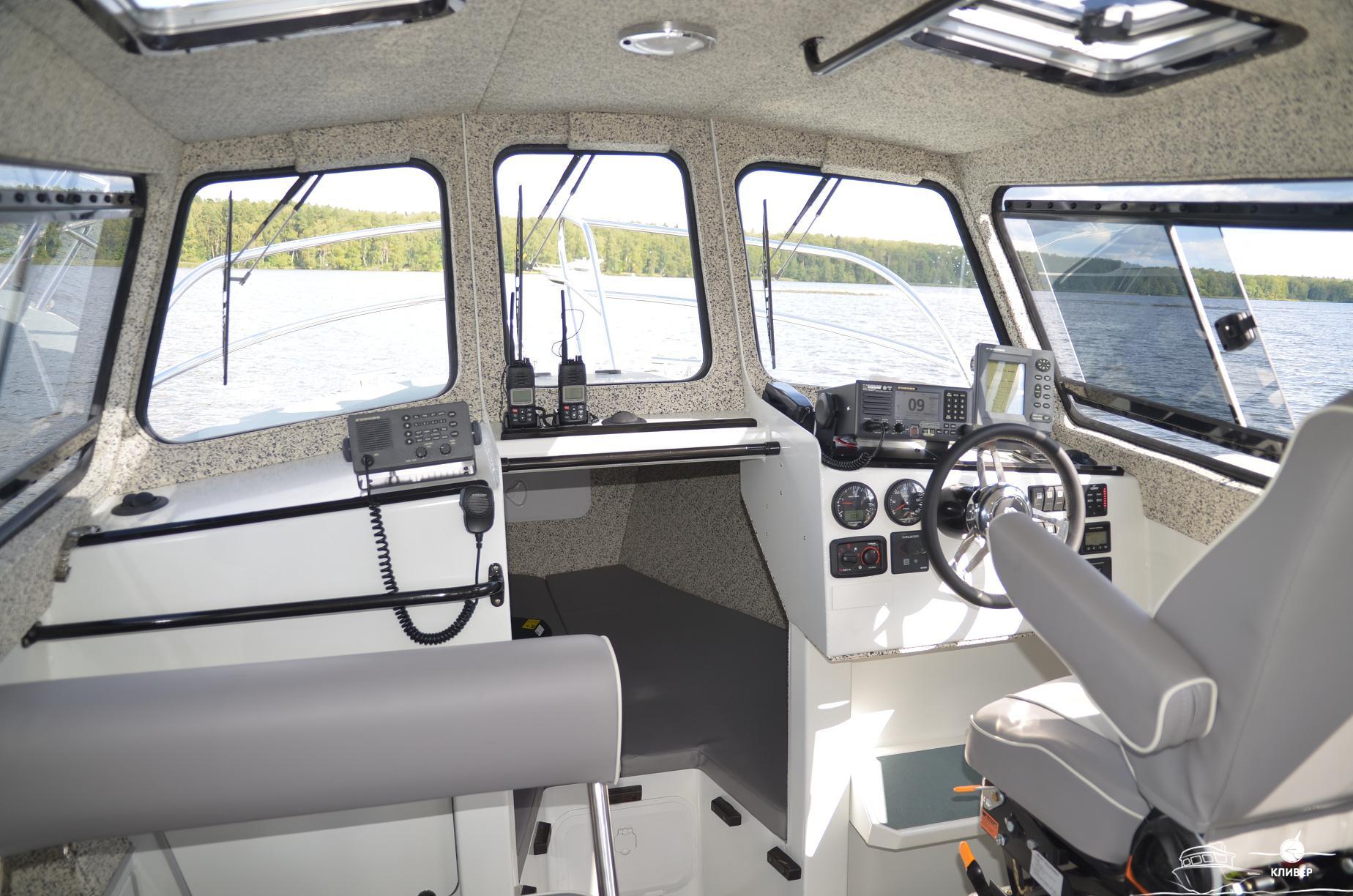 Рубка катера North Silver PRO 920 М St