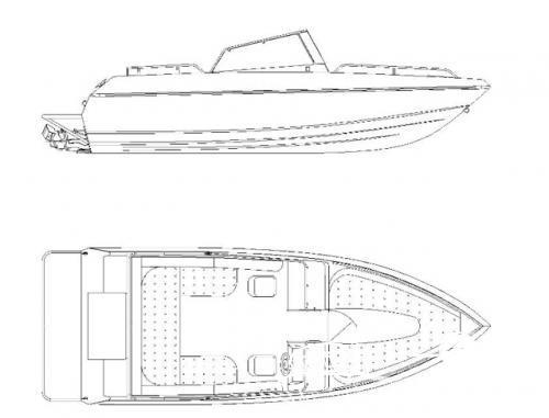 Алюминиевый скоростной катер КС 600 Джет