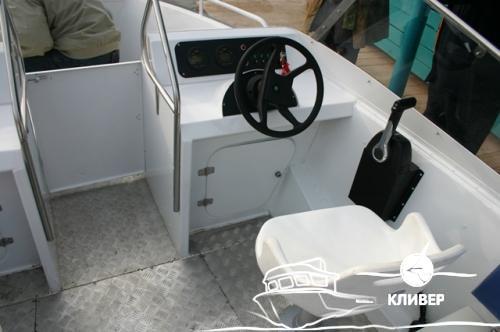 Алюминиевый скоростной катер КС 600 Фишер