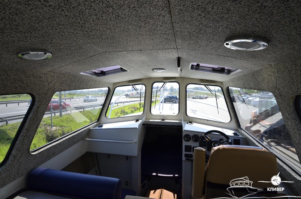 Рубка катера North Silver PRO 920 TDI