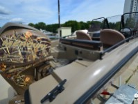 Кормовая часть катера North Silver 490