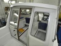 Сдвижная дверь в рубку катера Silver Eagle Star Cabin 650
