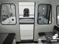 Кабина катера North Silver PRO 695 Cabin