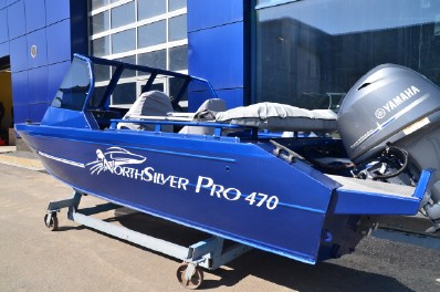 North Silver PRO 470 + Mercury F60 ELPT