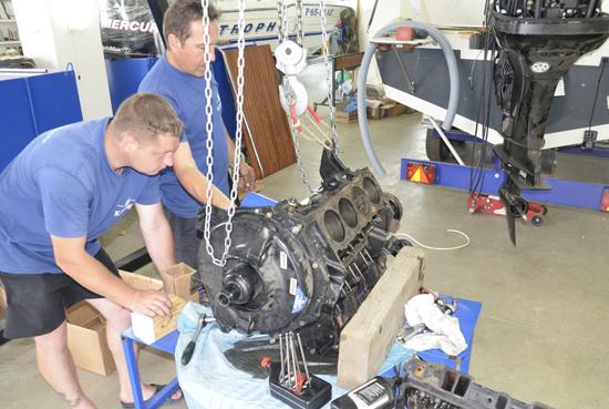 Комплексный ремонт стационарных двигателей