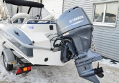 _063 Silver HAWK 540 c Yamaha F100DETL